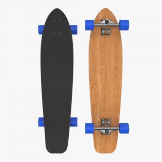 Longboard Generic 3D