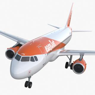 Airbus A320 EasyJet Airline 3D