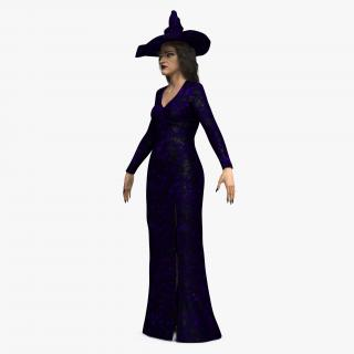 3D Witch Woman