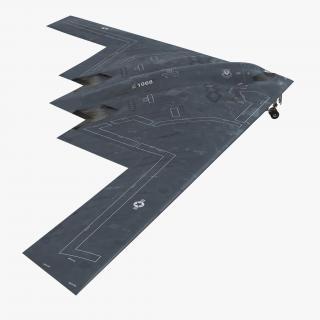 3D model Stealth Bomber B-2 Spirit