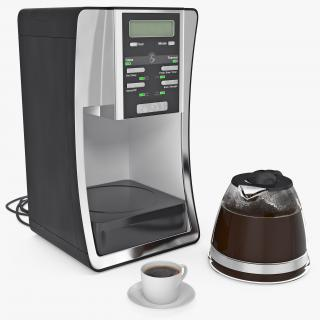3D Coffee Maker with Cup