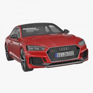 3D Audi RS5 2017 model