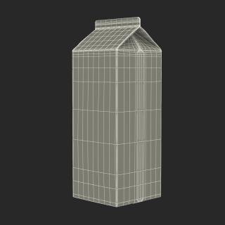 Milk Carton Generic 3D model