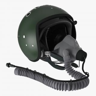 3D Jet Fighter Pilot Helmet 2
