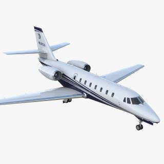 Cessna 680 Citation Sovereign 3D model
