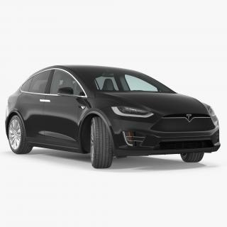 Tesla Model X 75D 2017 3D