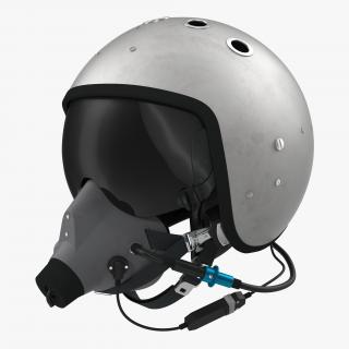 Russian Jet Fighter Pilot Helmet 3D