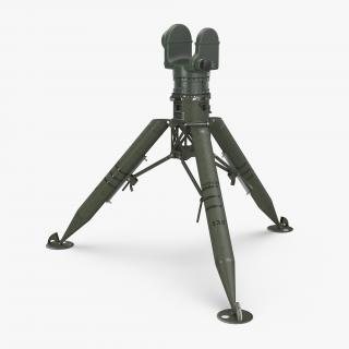 Tripod for TOW Missile 3D