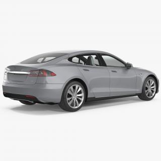 3D Tesla Model S 60 2017