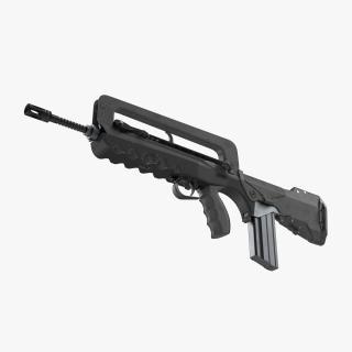 Assault Rifle FAMAS F1 3D