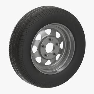 3D model Spare Car Wheel