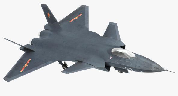 3D model Stealth Chengdu J-20