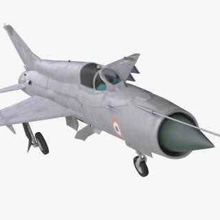 3D MiG-21 Bison Indian Air Force IAF model