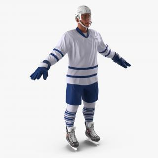 3D Hockey Player Generic 3 model