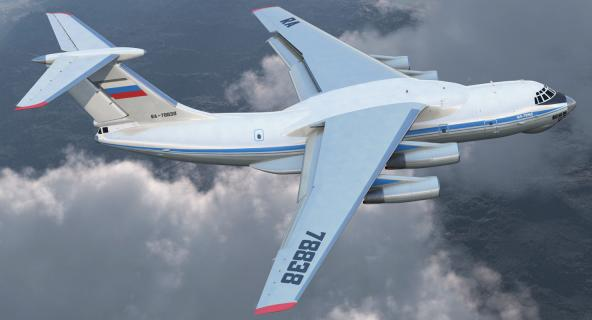 3D model Ilyushin Il-76 Civil Transport