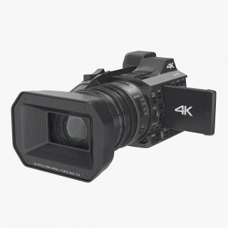 3D model Full HD Camcorder Generic