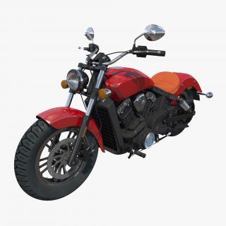 3D Cruiser Motorcycle Generic