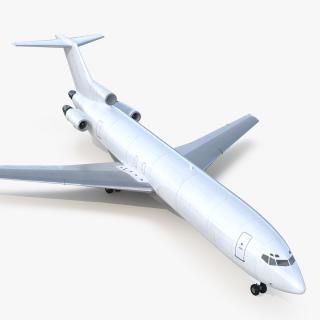 3D Boeing 727-200F Generic model