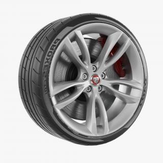 Jaguar Wheel 3D