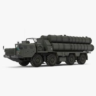S-300 Russian SAM System 3D model
