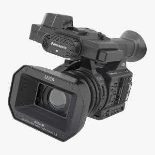 3D Full HD Camcorder Panasonic HC X1000 Rigged model