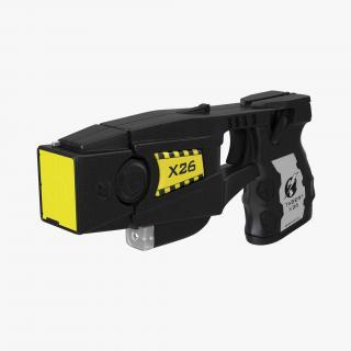 3D Police Taser Gun