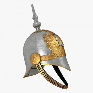 3D British Life Guard Cavalry Helmet model