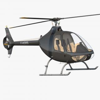 Helicopter Guimbal Cabri G2 3D