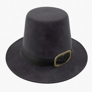 3D Pilgrim Hat