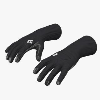 Winter Sport Gloves 3D model