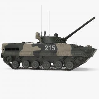 3D Infantry Fighting Vehicle BMP-3 Rigged model