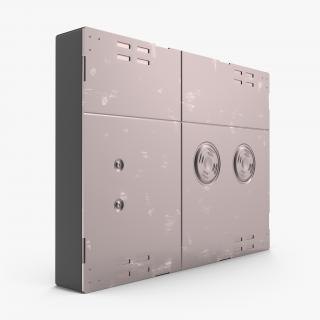 3D Sci-Fi Anodized Panel 4 model