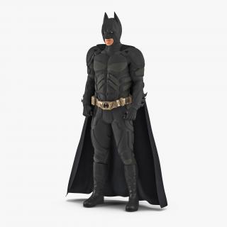 3D model Batman Standing Pose