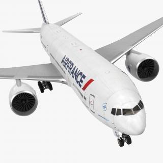 Boeing 777 200ER Air France 3D