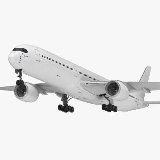 Airbus A350-1000 Generic 3D model