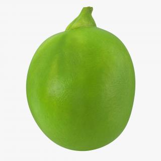 3D Single Green Pea