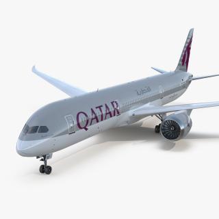 Boeing 787-9 Dreamliner QATAR 3D model