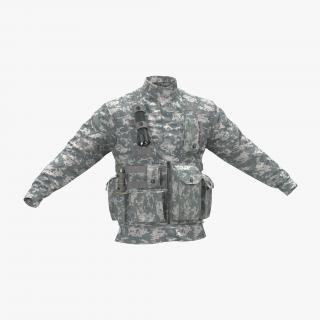 3D model Military Jacket Camo