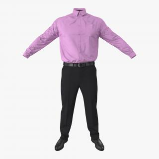 Office Wear for Men 3D model