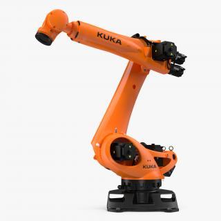 3D model Kuka KR 210 R3100 Ultra Rigged