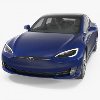 Tesla Model S 90D 2017 3D