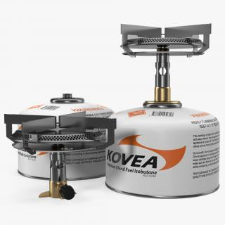 Single Burner Camping Gas Stove Kovea 3D