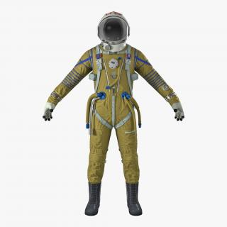 USSR Space Suit Strizh with SK-1 Helmet 3D model