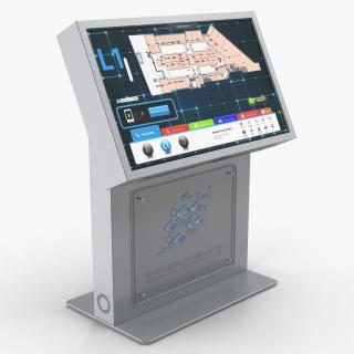 Envision Charlotte Kiosk 3D model