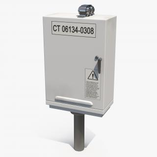 Outdoor Electric Cabinet 3D model