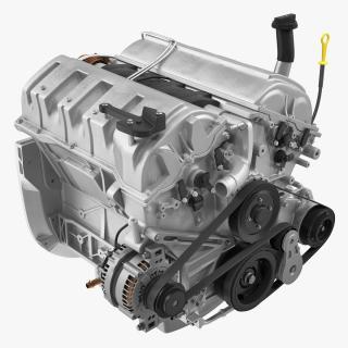 3D model Car Engine