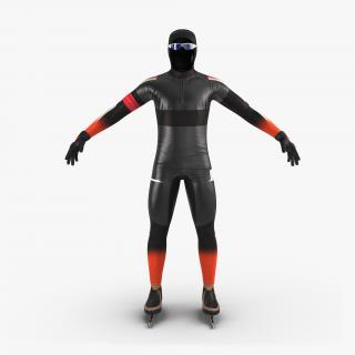 Speed Skater Suit 2 Generic 3D