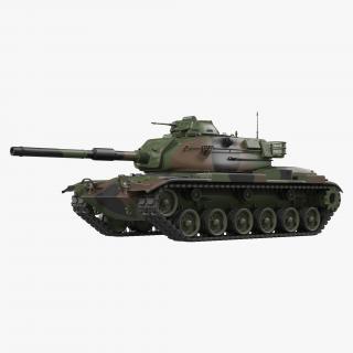 US Combat Tank M60A3 Patton 3D