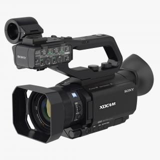 Professional XDCAM Compact Camcorder Sony PXWS X70 Rigged 3D