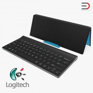 3D model Logitech Tablet Keyboard with Cover